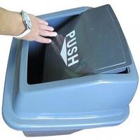 Корзина для мусора с плавающей крышкой фото, купить в Липецке | Uliss Trade