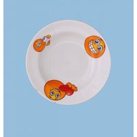 Тарелка глубокая 200 мм. рисунок Смайлики 1 фото, купить в Липецке | Uliss Trade