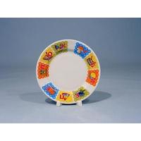 Тарелка мелкая 170 мм. (рисунок Азбука) фото, купить в Липецке | Uliss Trade