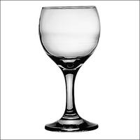 Бокал для вина 220 мл. d=74, h=150 мм красн. Бистро фото, купить в Липецке | Uliss Trade