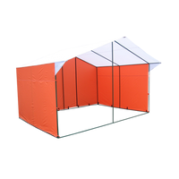 Торговая палатка «Домик» 3 х 2 из квадратной трубы 20х20 мм фото, купить в Липецке | Uliss Trade