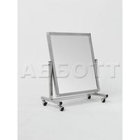 Зеркало примерочное напольное для обуви на колесах ST-04K фото, купить в Липецке | Uliss Trade