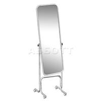 Зеркало примерочное напольное с изменением угла наклона на колесах 5М-05К фото, купить в Липецке | Uliss Trade