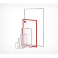 Пластиковая рамка с закругленными углами формата А2 PF-A2 фото, купить в Липецке   Uliss Trade
