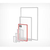 Пластиковая рамка с закругленными углами формата А3 PF-A3 фото, купить в Липецке   Uliss Trade