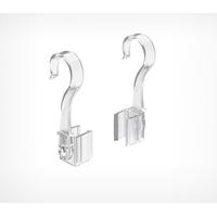 Крючок с подвижным основанием для подвешивания рамок на трубу TUBE HOOK фото, купить в Липецке | Uliss Trade