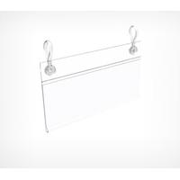Ценникодержатель универсальный с отверстиями для клипс DBH фото, купить в Липецке | Uliss Trade