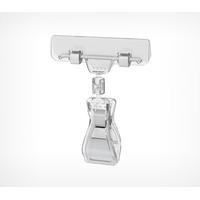 Универсальный ценникодержатель на прищепке с широким зажимом FX-CLAMP фото, купить в Липецке | Uliss Trade