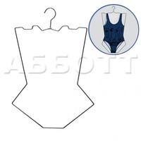 Контурная вешалка для нижнего белья и купальников EK431 фото, купить в Липецке | Uliss Trade