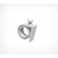 Спираль-улитка с углом для шарнирного ценникодержателя ROLL-VL-L фото, купить в Липецке | Uliss Trade