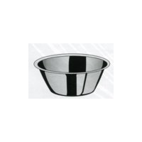 Миска коническая, 1.75л., d=24 h=9см., нерж.сталь фото, купить в Липецке | Uliss Trade