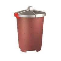 Бак пищевой 45 л 42*57см п/п бордовый фото, купить в Липецке | Uliss Trade