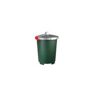 Бак пищевой 45 л 42*57см п/п зеленый фото, купить в Липецке | Uliss Trade