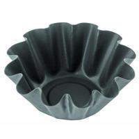 Формы гофрированные для кексов сталь антипригарным покрытием 5,0х9,5 h=3,5см v=100мл фото, купить в Липецке | Uliss Trade