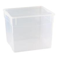 Контейнер для продуктов прямоуг. 34 л 40*33,5*31,5см п/п Кристалл фото, купить в Липецке | Uliss Trade