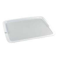 Поднос столовый из полипропилена 425х320 мм белый фото, купить в Липецке | Uliss Trade