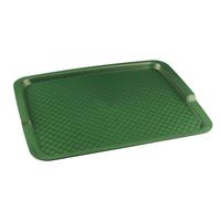 Поднос столовый из полипропилена 425х320 мм зеленый фото, купить в Липецке | Uliss Trade