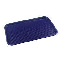 Поднос столовый из полипропилена 525х325 мм синий фото, купить в Липецке | Uliss Trade