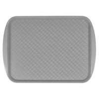 Поднос столовый из полистирола 420х300 мм серый фото, купить в Липецке | Uliss Trade