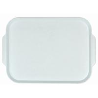 Поднос столовый из полистирола 450х355 мм белый фото, купить в Липецке | Uliss Trade
