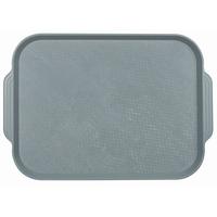Поднос столовый из полистирола 450х355 мм серый фото, купить в Липецке | Uliss Trade