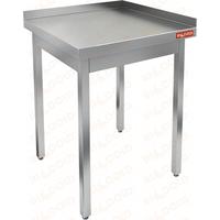 Стол производственный пристенный с двумя бортами без полки HICOLD НСО-6/6ББ фото, купить в Липецке | Uliss Trade