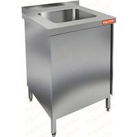 Стол производственный с распашными дверцами и моечной ванной HICOLD НСЗ1М-6/7БЛ фото, купить в Липецке | Uliss Trade