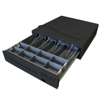 Денежный ящик 2.0/К0 (малый, черный) фото, купить в Липецке | Uliss Trade
