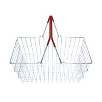 Корзина покупательская металлическая SB20-ZN-Budget фото, купить в Липецке | Uliss Trade