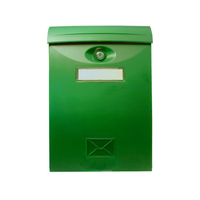 Почтовый ящик металлический LTP-01 GREEN фото, купить в Липецке | Uliss Trade