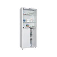 Шкаф для медикаментов двухстворчатый HILFE МД 2 1670/SG фото, купить в Липецке | Uliss Trade