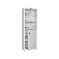 Шкаф для медикаментов одностворчатый HILFE МД 1 1760/SG фото, купить в Липецке | Uliss Trade