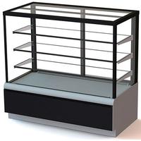 Кондитерская холодильная витрина Полюс ВХСв-1,3д Carboma Cube ТЕХНО фото, купить в Липецке | Uliss Trade
