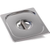 Крышка Luxstahl из нержавеющей стали для GN 1/2 фото, купить в Липецке   Uliss Trade