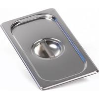 Крышка Luxstahl из нержавеющей стали для GN 1/3 фото, купить в Липецке   Uliss Trade