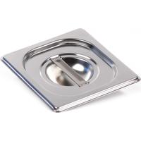 Крышка Luxstahl из нержавеющей стали для GN 1/6 фото, купить в Липецке   Uliss Trade