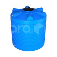 Пластиковая ёмкость для воды 1000 л с отводами (1140x1140x1210 мм) фото, купить в Липецке | Uliss Trade