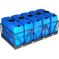 Пластиковая ёмкость в обрешётке 10000 литров фото, купить в Липецке | Uliss Trade