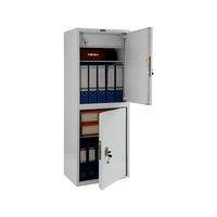 Шкаф бухгалтерский ПРАКТИК SL-125/2Т фото, купить в Липецке | Uliss Trade