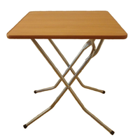 Стол складной на Х-образном подстолье 900х900х750 фото, купить в Липецке | Uliss Trade