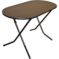 Стол складной овальный на Х-образном подстолье 1200х800х750 фото, купить в Липецке | Uliss Trade