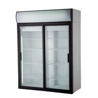 Холодильный шкаф со стеклянными дверьми POLAIR Standard DM110Sd-S фото, купить в Липецке | Uliss Trade