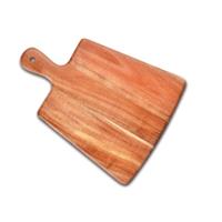 Доска для подачи стейка (акация) L/W/H=31/24/1,2cм фото, купить в Липецке | Uliss Trade