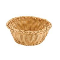 Хлебница бежевая круглая ∅/H, см 18,5/7,5 Арт. 95001258 фото, купить в Липецке   Uliss Trade
