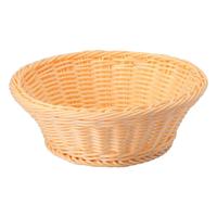 Хлебница бежевая круглая ∅/H, см 23/7 фото, купить в Липецке   Uliss Trade