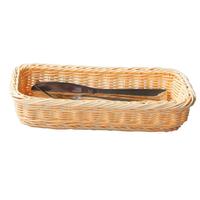 Хлебница бежевая прямоугольная L/W/H, см 27/10/5 фото, купить в Липецке   Uliss Trade