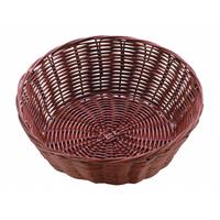 Хлебница коричневая круглая ∅/H, см 20/7 фото, купить в Липецке   Uliss Trade