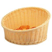 Корзина для выкладки бежевая круглая ∅/H, см 40/10 фото, купить в Липецке   Uliss Trade