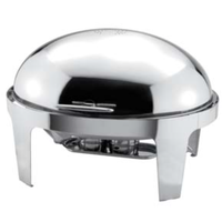 Мармит сервировочный овальный с крышкой «ролл-топ» «Sunnex» L/W, см 66/57/30 V, л 9 фото, купить в Липецке | Uliss Trade