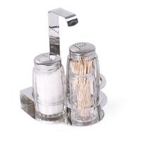 Набор для специй (соль, перец, зубочистки) фото, купить в Липецке | Uliss Trade